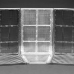 Mojo Barriers aluminium 22.5 corner white row